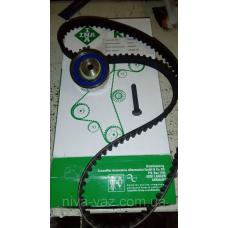 Комплект ременя ГРМ Ланос, Авео 1.5 літра (ремінь + ролик) (виробництво Ina) 530000410