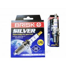 Свечи зажигания ВАЗ для автомобилей с ГБО от компании BRISK silver