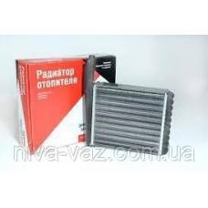 """Радиатор отопителя, радиатор печки ВАЗ 2108-21099 """"ДААЗ"""" алюминиевый"""