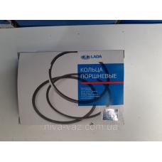 Кольца поршневые ВАЗ (76,4) хром 2108-1000100-10 (пр-во АвтоВАЗ)
