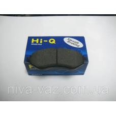 Гальмівні колодки Ланос 1.6 Лачетті Такума Hi-Q (передні) SP1077