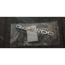 Емблема ''DAEWOO'' задня LANOS