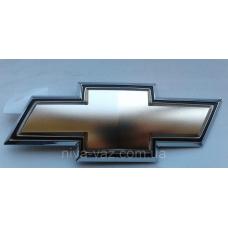 Емблема кришки багажника хрест (чорний край) Aveo T250 Корея