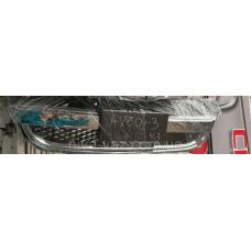 Решітка радіатора 96648529, 96648621 Шевроле Авео Т-250 хром