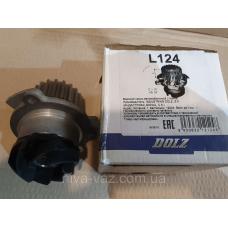 Dolz L124 водяной насос ВАЗ 2110, 2111, 2112 (16V)