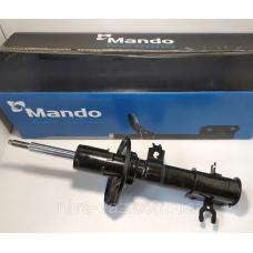 Амортизатор передній лівий масло Mando Aveo