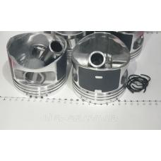 Поршень цилиндра ВАЗ 2105 d=79,0 группа B Мотор Комплект (NanofriKS), поршневой палец (МД Кострома) 2105-10040