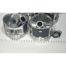 Поршень цилиндра ВАЗ 2110,21111 d=82,4 группа В Мотор Комплект (NanofriKS), поршневой палец (МД Кострома)