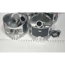 Поршень цилиндра ВАЗ 2110,21111 d=82,4 группа С Мотор Комплект (NanofriKS), поршневой палец (МД Кострома)