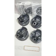 Поршень цилиндра ВАЗ 11194  d=77,5 группа С Мотор Комплект (Black Edition/EXPERT+поршневой палец+поршневые