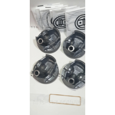 Поршень циліндра ВАЗ 11194 d = 77,5 група С Мотор Комплект (Black Edition / EXPERT + поршневий палець + поршневі
