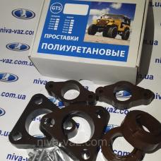 Проставки Kia Ceed Кіа Сід комплект передні і задні поліуретан