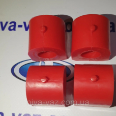 Поліуретанові втулки стабілізатора 2101-07 (4 шт.) червоний DRIVE