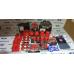 """Втулки стабілізатора """"CS-20"""" DRIVE ВАЗ 2110-2112 червоні, поліуретан (2 шт)"""