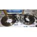 Комплект вентилируемых тормозных дисков для Нива 2121-2123 с суппортами плавного торможения РОСТЕХНО