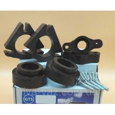 Проставки Мазда 5 Mazda для збільшення кліренсу комплект задніх і передніх висота 30мм матеріал алюміній
